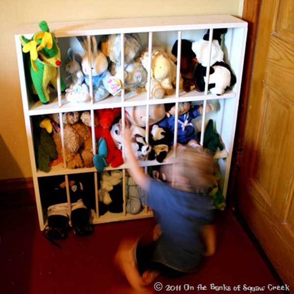 A zoo prison for stuffed friends is an option