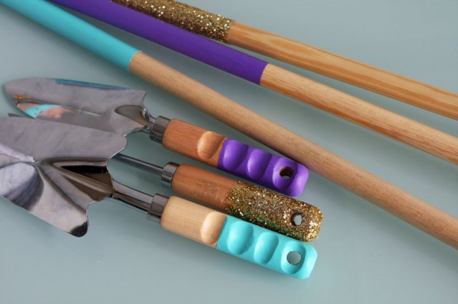 diy glitter projects craft tools