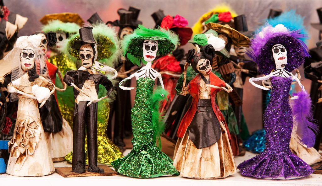 diy paper mache mexico dolls