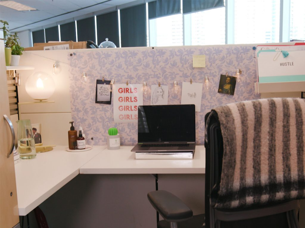 Girlish Style Office Space
