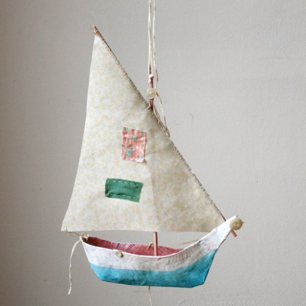 boat paper mache projects