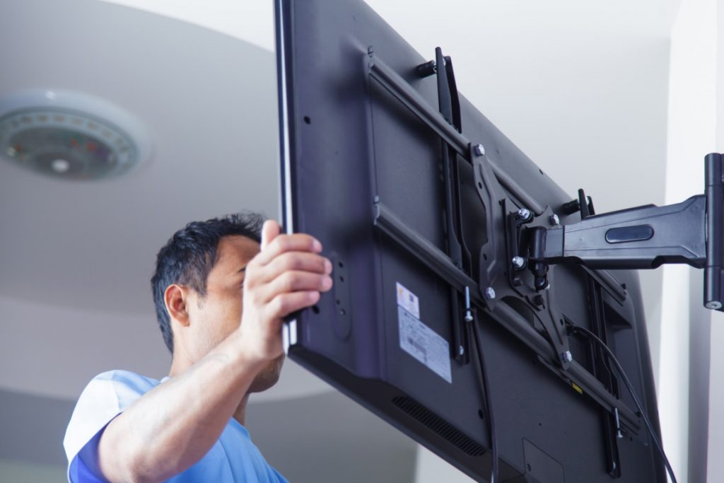 mounting a wall tv