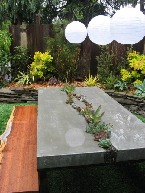 Concrete project for your backyard