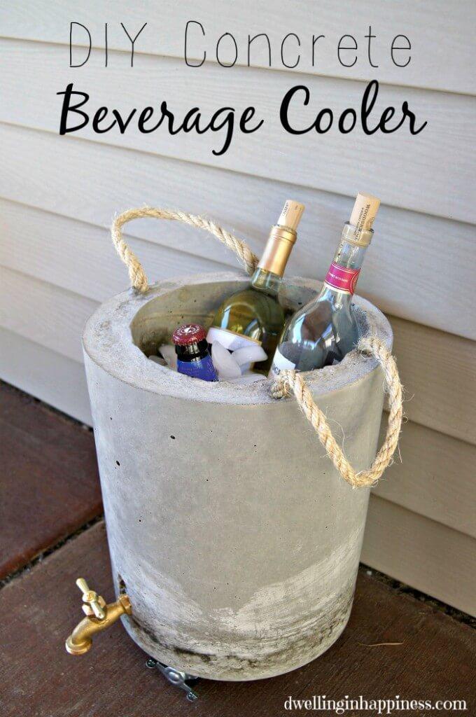 DIY beverage cooler