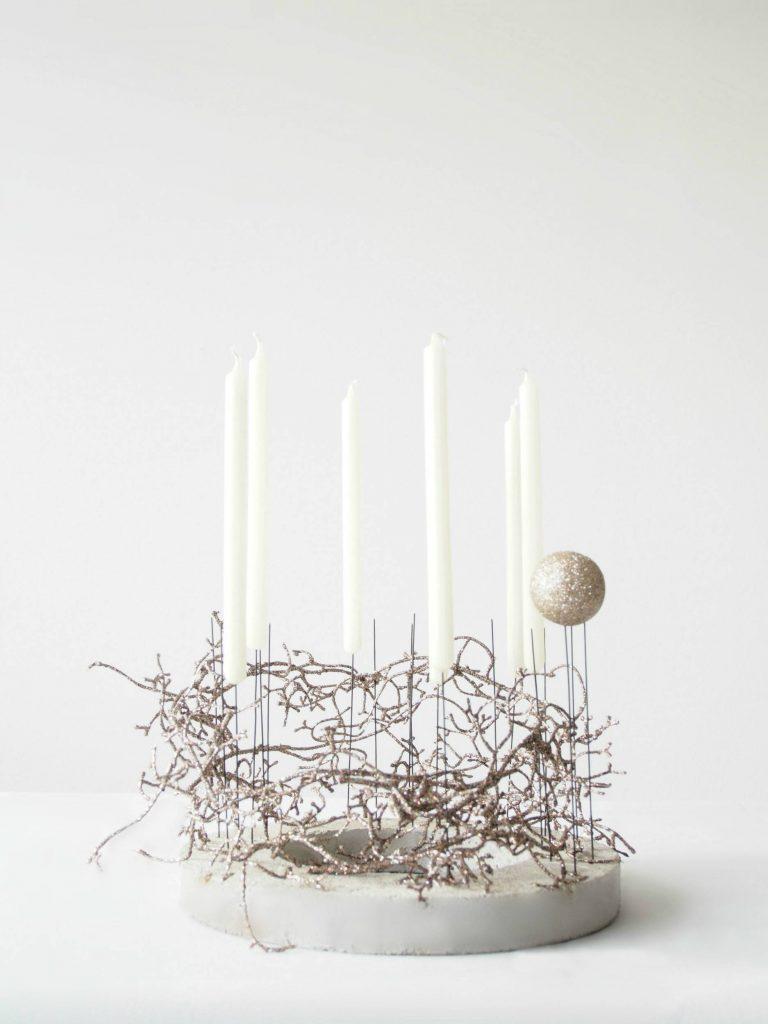 Elegant candlestick holders