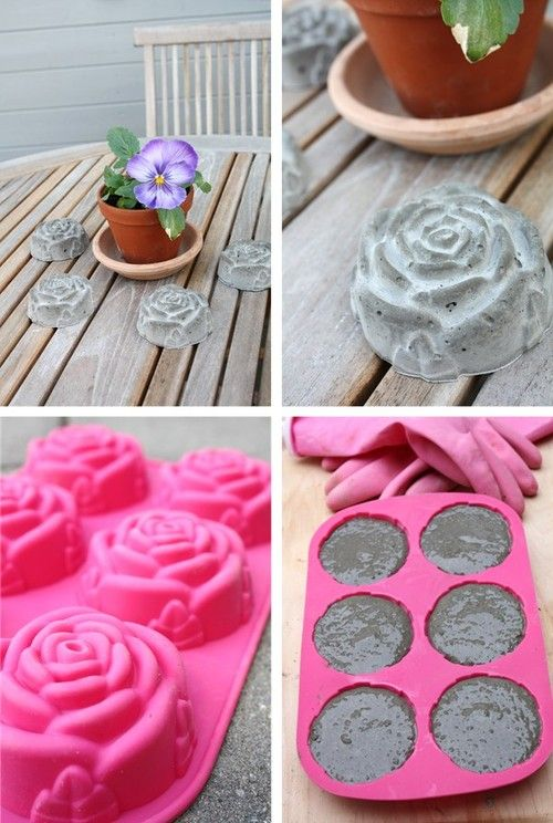 Rose shapes paper weights