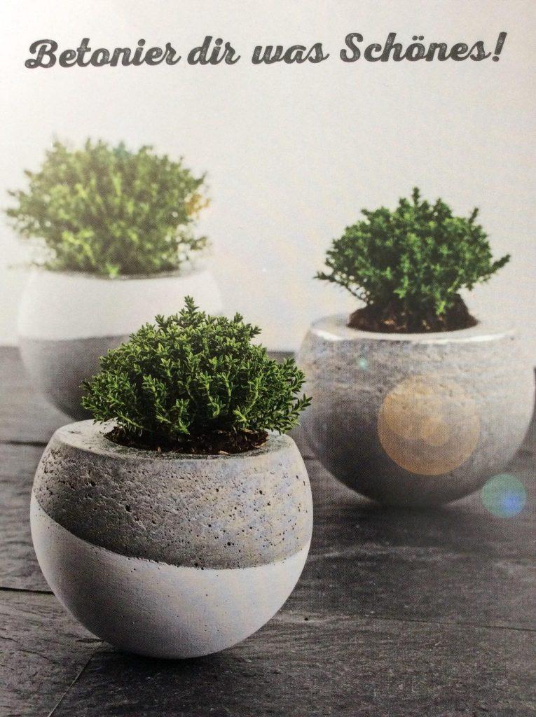 Resilient cement flower pots