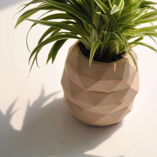 Pineapple shaped concrete crafts