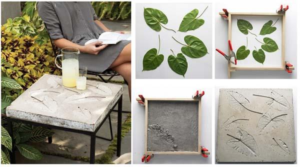 Nature touched concrete