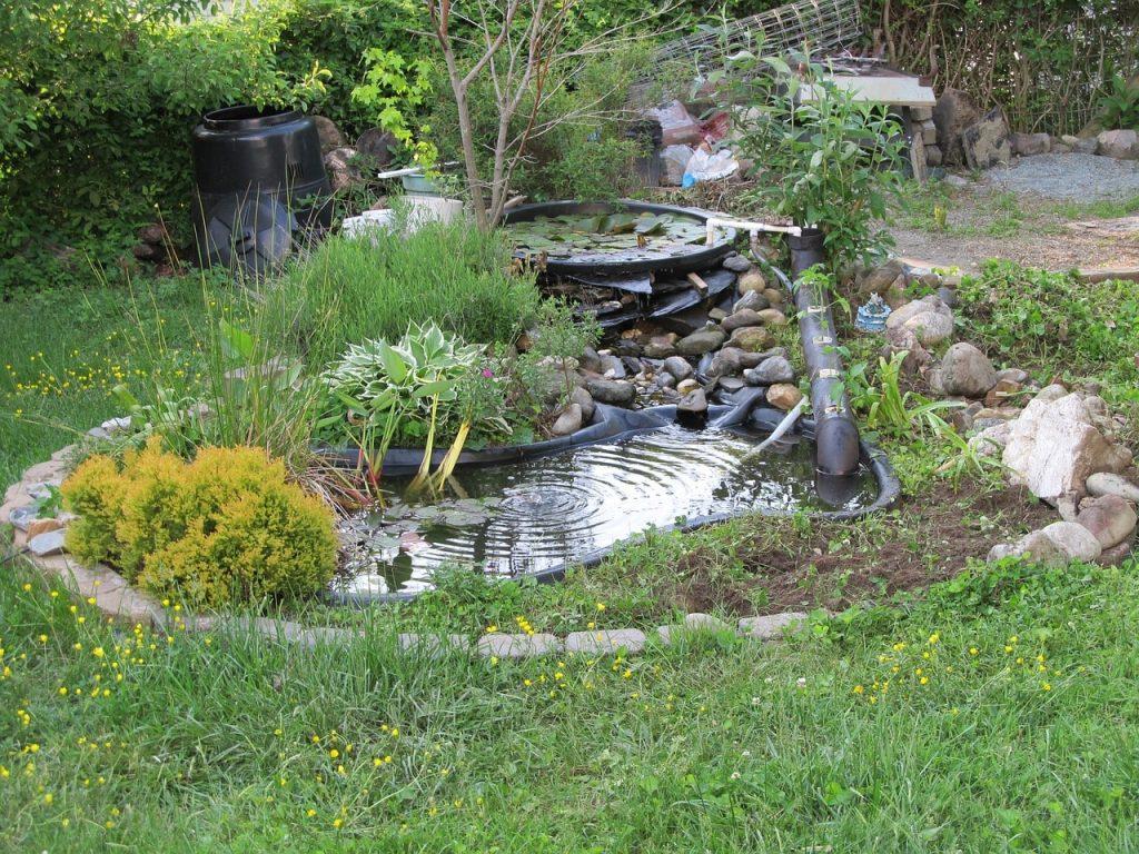Best DIY ideas for your backyard pond 1024x768 - Backyard pond best DIY ideas for You