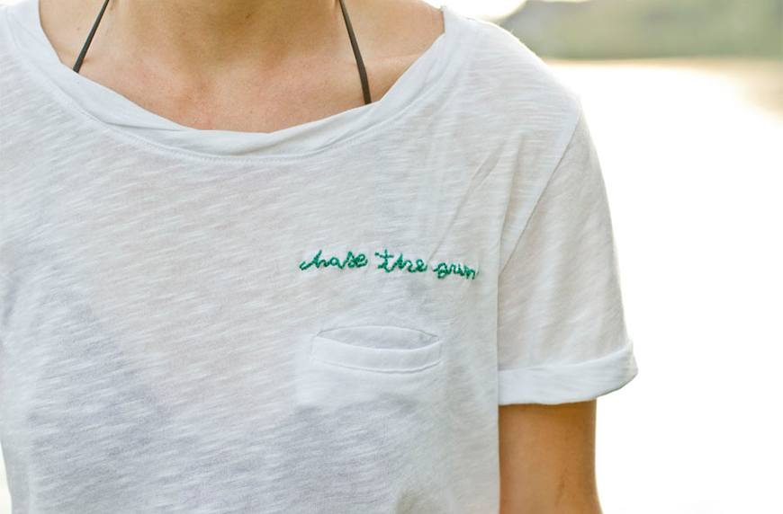 Ways to Refresh Your Old Favorite T shirt - Upcycling Clothes - Ways to Refresh Your Old Favorite T-shirt