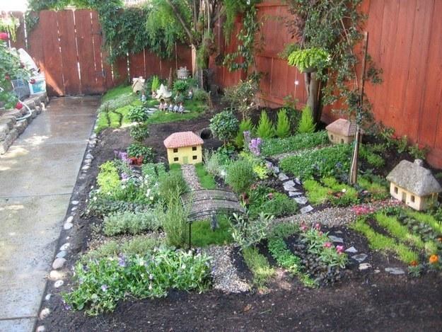 mini village garden