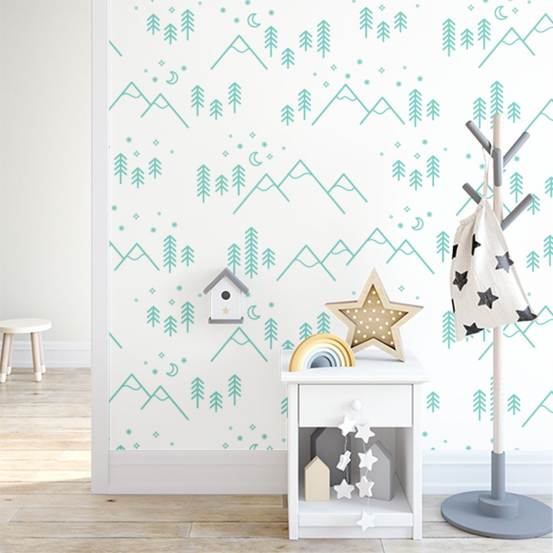 5 Super Cute Peel and Stick Wallpaper Designs Perfect For Kids' Bedroom