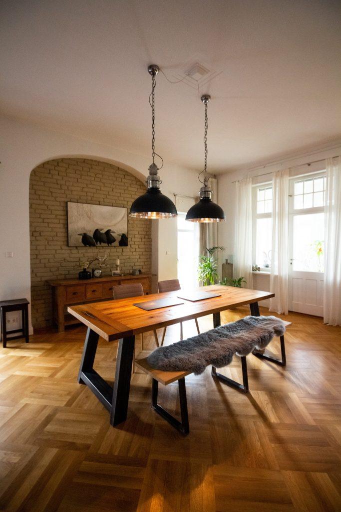 buff hardwood floors