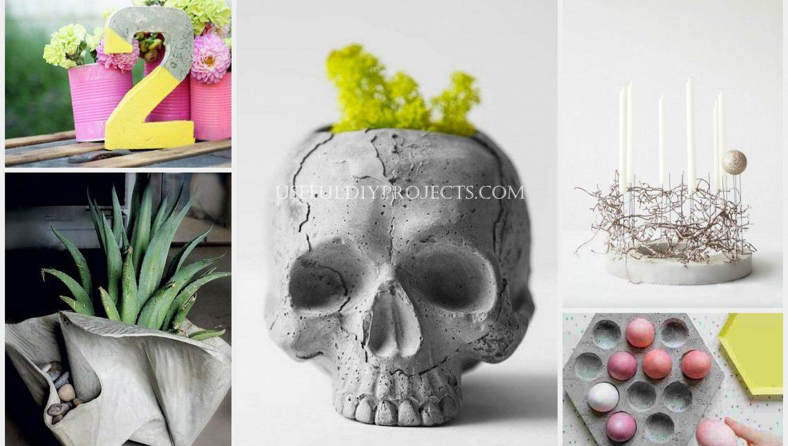 Best Concrete Crafts